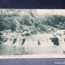 Postales: POSTAL 17 OLOT CASCADA DEL COLLELL THOMAS. Lote 193965302