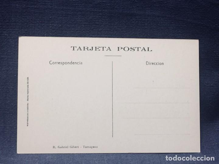 Postales: postal tarragona 19 palacio de augusto roisin gabriel gilbert no inscrita no circulada - Foto 2 - 194011495