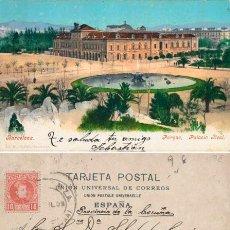 Postales: POSTAL BARCELONA PARQUE PALACIO REAL PURGER & CO 2353 . Lote 194133706