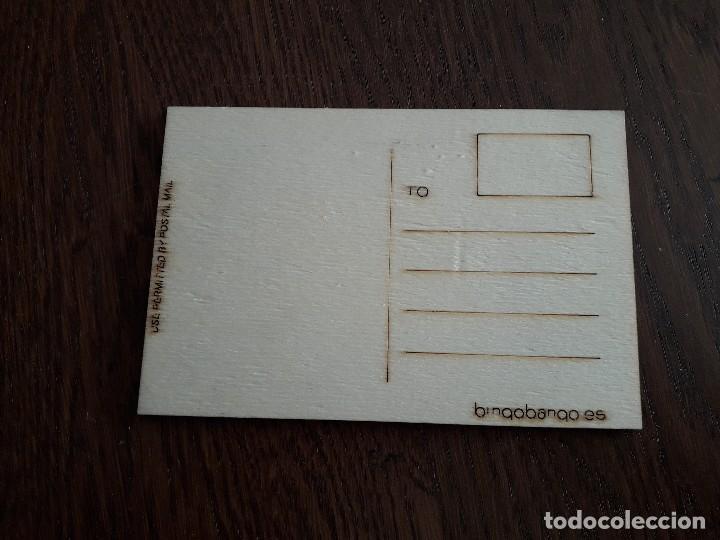 Postales: postal de madera de Salou. - Foto 2 - 194162957