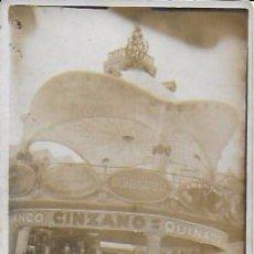 Postales: QUIOSCO DE BARCELONA. COCHE MATRÍCULA B-7520 ( AÑO 1921 ). 14X9 CM.. Lote 194234198