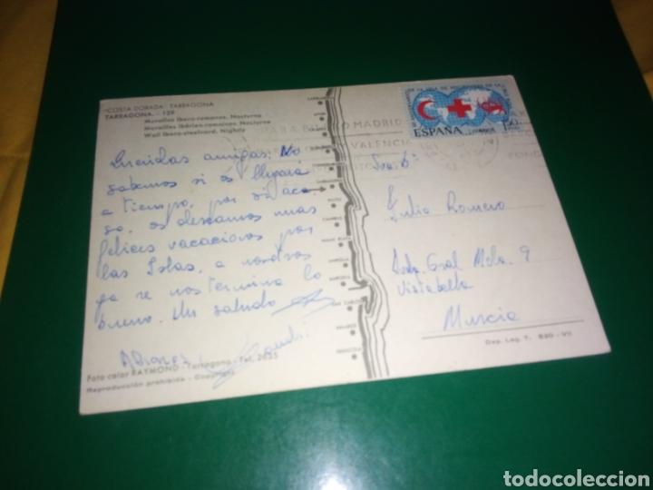 Postales: Antigua postal de Tarragona. Costa Dorada. Muralla ibero romana. Años 60 - Foto 2 - 194235702