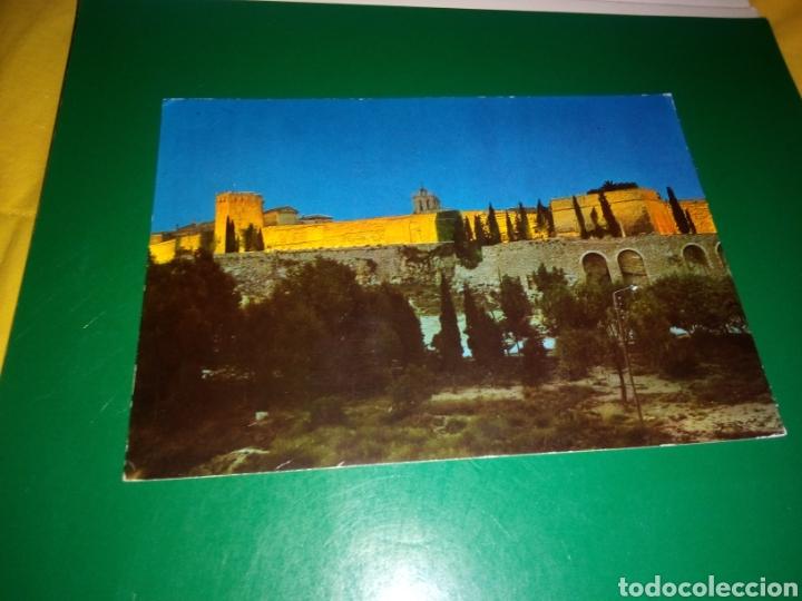 ANTIGUA POSTAL DE TARRAGONA. COSTA DORADA. MURALLA IBERO ROMANA. AÑOS 60 (Postales - España - Cataluña Moderna (desde 1940))