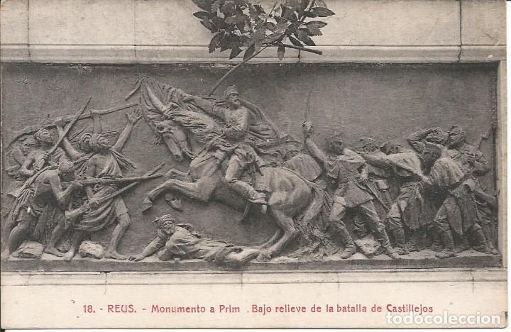REUS-TARRAGONA (Postales - España - Cataluña Antigua (hasta 1939))