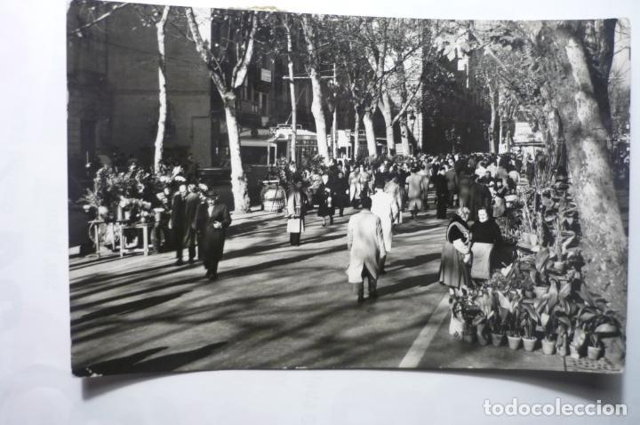 POSTAL BARCELONA RAMBLA FLORES CIRCULADA CM (Postales - España - Cataluña Moderna (desde 1940))