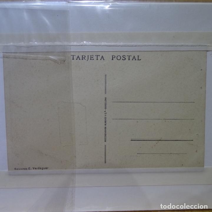 Postales: postal del teatro principal de tarrasa.foto altimira.ediciones e. Verdaguer.como nueva. - Foto 2 - 194249918