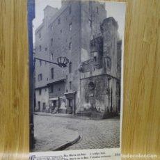 Postales: POSTAL DE BARCELONA ANTIGA.RICART.SANTA MARIA DEL MAR.L'ANTIGA FONT.104.. Lote 194252733