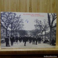 Postales: POSTAL DE VILAFRANCA DEL PENEDES.RAMBLA DE SAN FRANCISCO.. Lote 194252857