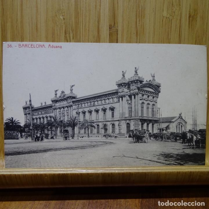 POSTAL DE BARCELONA.ADUANA.36. (Postales - España - Cataluña Antigua (hasta 1939))
