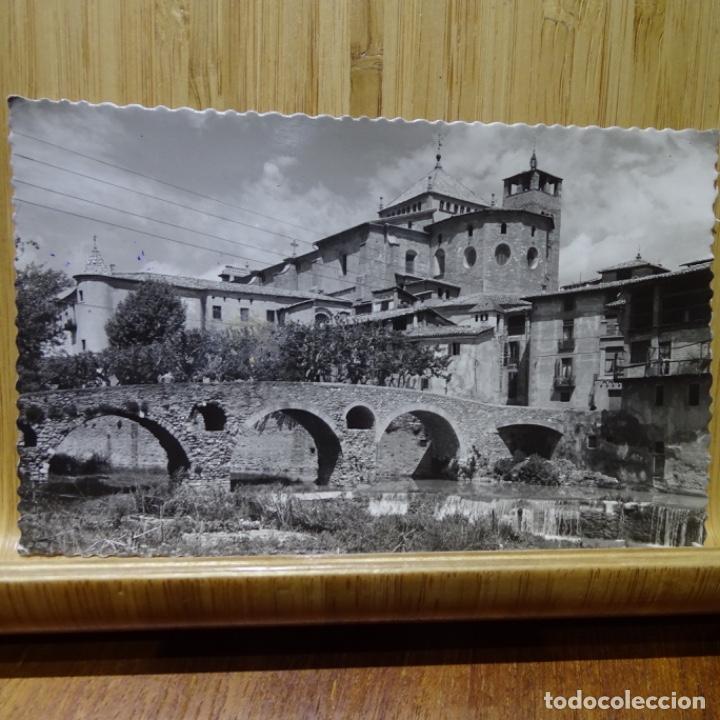 POSTAL DE VICH PUENTE ROMÁNICO Y CATEDRAL.7.GARCIA GARRABELLA. (Postales - España - Cataluña Antigua (hasta 1939))