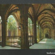 Postales: POSTAL CIRCULADA -BARCELONA 2127 - CATEDRAL - CLAUSTRO - EDITA ZERKOWITZ. Lote 194263738