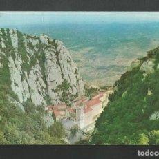 Postales: POSTAL SIN CIRCULAR - MONSERRAT 27 - EL MONASTERIO DESDE SAN JUAN - EDITA MONASTERIO DE MONSERRAT. Lote 194263908