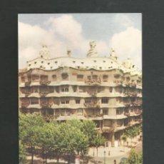 Postales: POSTAL SIN CIRCULAR - BARCELONA 5013 - EDIFICIO LA PEDRERA ARQUITECTO GAUDI - EDITA NIKOLAUS REUSS. Lote 194263977