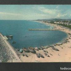 Postales: POSTAL CIRCULADA - SITGES 15 - VISTA PANORAMICA DE LA PLAYA - EDITA R.G. Lote 194264356