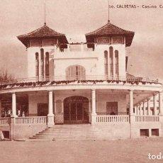 Postales: CALDETAS. 10 CASINO COLÓN. FACHADA. Lote 194280981