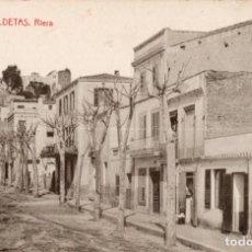 Postales: CALDETAS. 6 RIERA. THOMAS. Lote 194281085