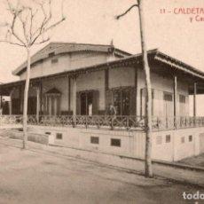 Postales: CALDETAS. 11 BALNEARIO Y CASINO COLÓN. THOMAS. Lote 194281193