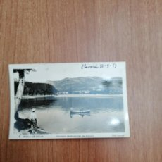 Postales: POSTAL POBLA DE SEGUR PANORAMA DESDE EL EMBALSE DE SAN ANTONIO CIRCULADA. Lote 194287507