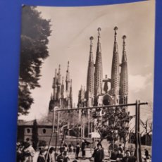 Postales: ANTIGUA POSTAL DE BARCELONA SAGRADA FAMILIA. Lote 194289023