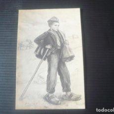 Postales: NIÑO CON VESTIMENTA TRADICIONAL CATALANA. Lote 194296693