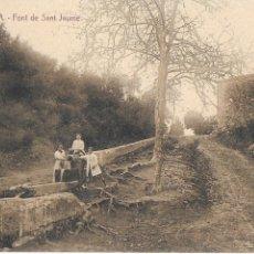 Postales: P- POSTAL PINEDA, LA FONT DE SANT JAUME. . Lote 194303745