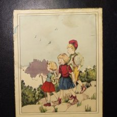 Postales: POSTAL CATALUÑA, POEMES I CANCONS, MONTSERRAT, ED. SIRENITA. Lote 194309518