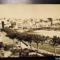 Postales: PALAMOS, GIRONA, CATALUÑA, COSTA BRAVA, PADEO Y PLAYA. Lote 194310013