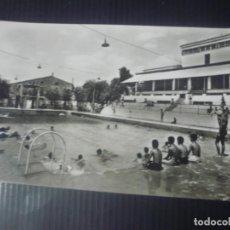 Postales: IGUALADA-PISCINA MUNICIPAL. Lote 194314041