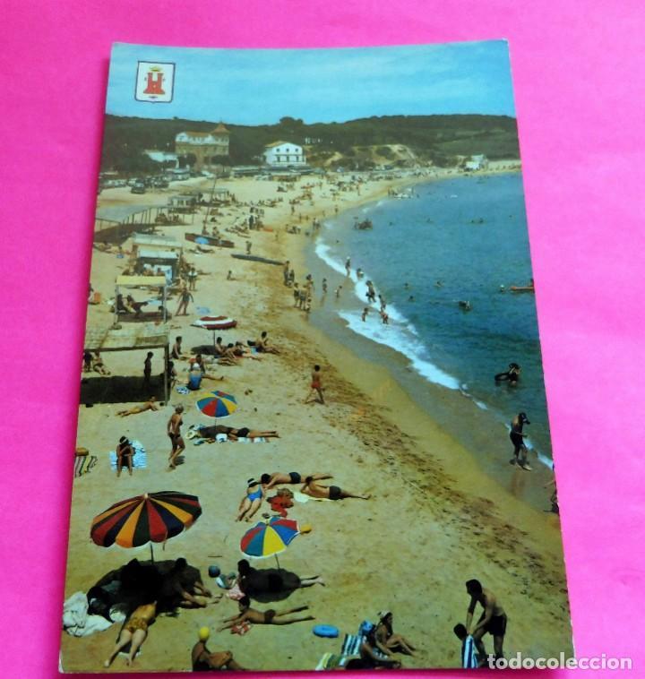 POSTAL - PALAMÓS - GIRONA - COSTA BRAVA - Nº 223 - PLAYA LA FOSCA (Postales - España - Cataluña Moderna (desde 1940))