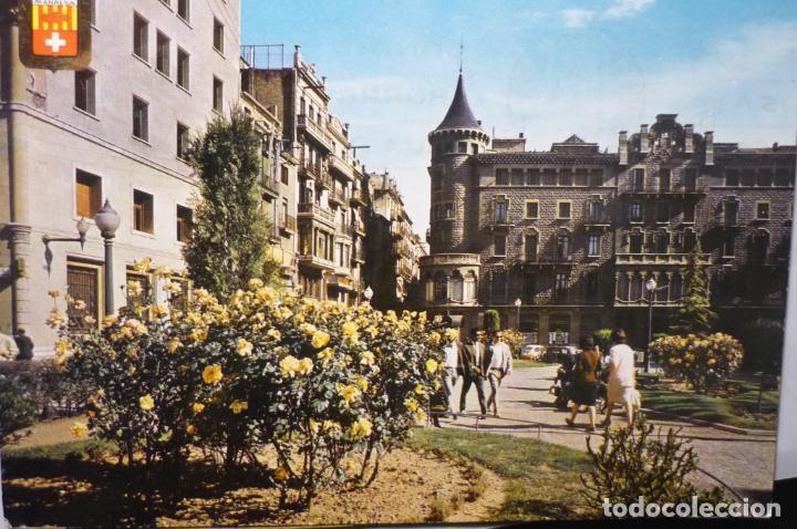 POSTAL MANRESA .-PL.STO.DOMINGO CIRCULADA (Postales - España - Cataluña Moderna (desde 1940))