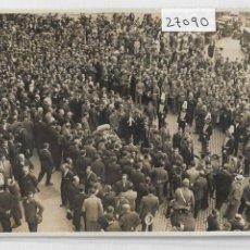Postales: BARCELONA - ENTIERRO DE IGNASI IGLESIAS - GRAN VIA - P27090. Lote 194355320
