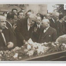 Postales: BARCELONA - ENTIERRO DE IGNASI IGLESIAS - SANTIAGO RUSIÑOL - P27091. Lote 194355413
