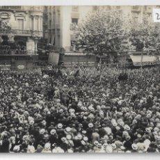 Postales: BARCELONA - ENTERRAMENT D'ÀNGEL GUIMERÀ - RAMBLES - P27092. Lote 194355545