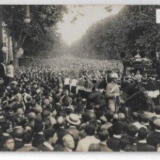 Postales: BARCELONA - ENTERRAMENT D'ÀNGEL GUIMERÀ - RAMBLES - P27093. Lote 194355947