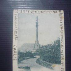 Postales: BARCELONA-MONUMENTO DE COLÓN.. Lote 194360475