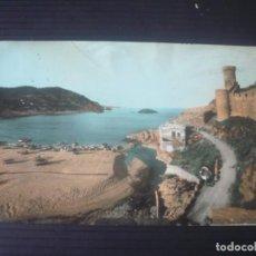 Postales: TOSSA DE MAR-DETALLE DE LA MURALLA. Lote 194365056