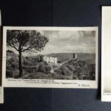 Postales: 3 POSTALS DEL SANTIUARI DE PUIGGRACIOS, SIN CIRCULAR . Lote 194509787