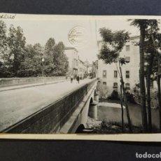 Postales: TORELLO-CARRER DEL PONT-FOTO PEGADA-ARCHIVO ROISIN-POSTAL PROTOTIPO-(67.725). Lote 194518885