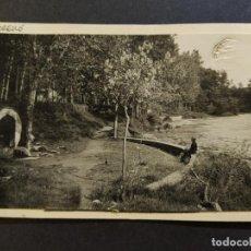 Postales: TORELLO-FONT DEL FERRO-FOTO PEGADA-ARCHIVO ROISIN-POSTAL PROTOTIPO-(67.726). Lote 194518957