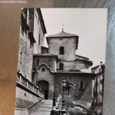 Postales: POSTAL DE OLOT Nº53 ABSIS DE LA IGLESIA PARROQUIAL CIRCULADA EN 1958. Lote 194542621