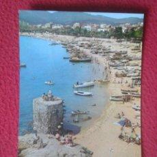 Postales: POSTAL POST CARD SAN SANT FELIU DE GUIXOLS COSTA BRAVA GIRONA GERONA LUZ Y PLACIDEZ EN SUS PLAYAS.... Lote 194561366