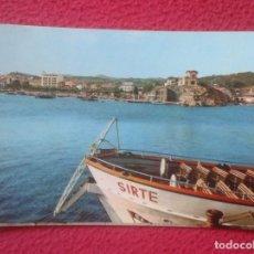 Postales: POSTAL POST CARD SAN SANT FELIU DE GUIXOLS COSTA BRAVA GIRONA GERONA EL FORTIM Y EL PASEO...VER FOTO. Lote 194563882