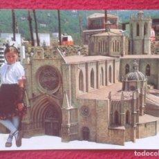 Postales: POSTAL POST CARD TARRAGONA DETALL DE CATEDRAL CONEIXEM CATALUNYA VISITANT CATALUNYA EN MINIATURA VER. Lote 194594832