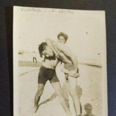 Postales: VILANOVA I LA GELTRU-POSTAL FOTOGRAFICA ANTIGUA-(67.786). Lote 194619917