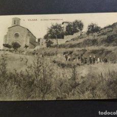 Postales: VILADA-IGLESIA PARROQUIAL-POSTAL ANTIGUA-(67.788). Lote 194620278