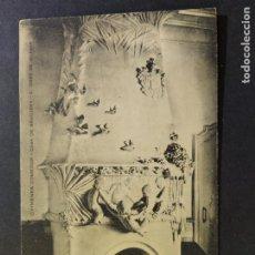 Postales: SANT GINES DE VILASAR-CHIMENEA COMEDOR-CASA DE BRUGUERA-POSTAL ANTIGUA-(67.790). Lote 194620678