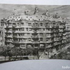 Postales: POSTAL BARCELONA-CASA MILA Y CAMPS CM. Lote 194644680