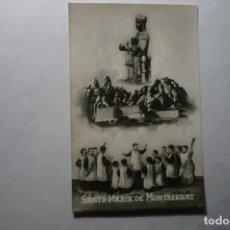 Postales: POSTAL SANTA MARIA DE MONTSERRAT .-ESCRITA CM. Lote 194644798