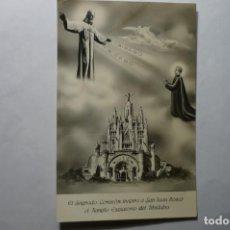 Postales: POSTAL BARCELONA.- SGDO.CORAZON -TEMPLO TIBIDABO INSPIRA S-JUAN BOSCO CM. Lote 194645140