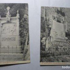 Postales: LOYR POSTALES MONTSERRAT .-SEGUNDO Y QUINTO MISTERIO CM. Lote 194645212